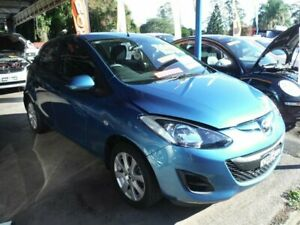 2013 Mazda 2 DE MY12 Neo Blue 4 Speed Automatic Hatchback East Lismore Lismore Area Preview