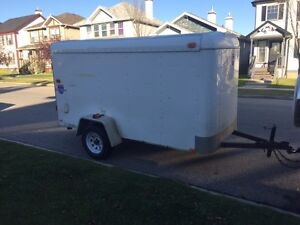 10ft x 5ft Cargo Trailer - Priced to Move
