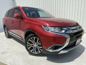 2017 Mitsubishi Outlander ZK MY17 LS 2WD Red 6 Speed Constant Variable Wagon Mundingburra Townsville City Preview