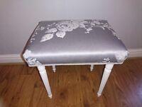 pretty dressing table stool