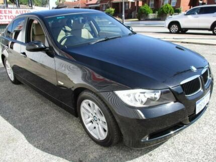 2006 BMW 320i E90 Executive Black 6 Speed Auto Steptronic Sedan