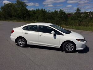 2012 Honda Civic LX Sedan. INSPECTED. REGISTERED UNTIL MARCH 201