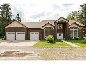 Gorgeous 3 Bedroom Home on Acreage, East of Sundre