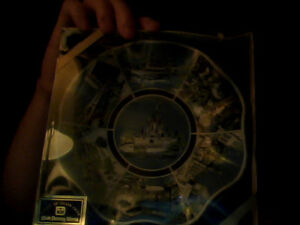 Disney World Collectible Plate