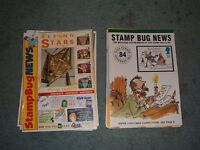 GB Stamp, Collectors Club & Stamp Bug Magazines Large Lot