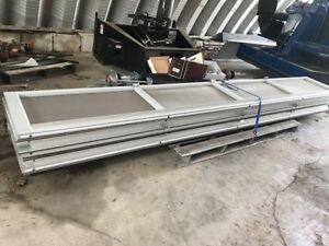 Commercial Overhead Screen Roll  Up Door