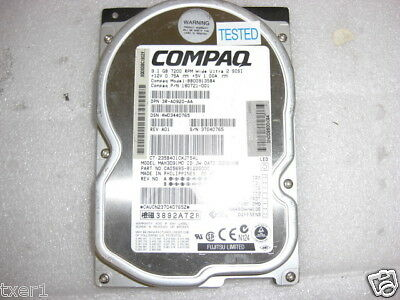 Compaq 180721-001 9.1GB Wide Ultra 2 SCSI Hard Drive ()