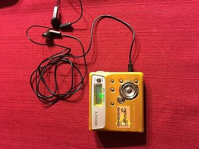 Sony Net MD Walkman MZ-N505 Type-R Portable MiniDisc Recorder