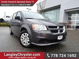 2016 Dodge Grand Caravan SE/SXT ACCIDENT FREE w/ U-CONNECT BL...