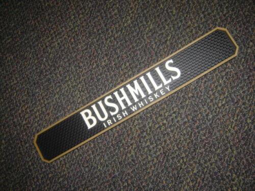 Bushmills Irish Whiskey Bar Rail Spill Mat Distillery Beverage Collectable NEW