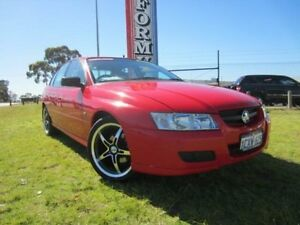 2006 Holden Commodore VZ Executive Red 4 Speed Automatic Sedan Wangara Wanneroo Area Preview