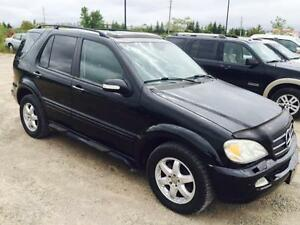2002 Mercedes ML 500-4 MATIC-CERTIFIED- EASY FINANCING APPROVALS