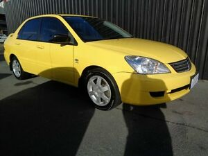 2006 Mitsubishi Lancer CH MY07 ES Yellow 4 Speed Auto Sports Mode Sedan Chifley Woden Valley Preview