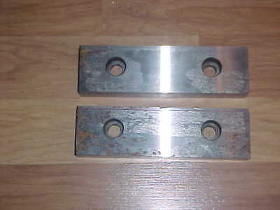 Nos Kurt D100 Milling Machine Vise Replacement Step Jaw Pair Set 10 Usa
