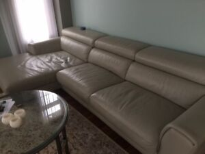 Italian Sectional Leather Sofa and much more to sell!!!