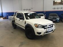 2009 Ford Ranger PK XL (4x2) White 5 Speed Automatic Dual Cab Pick-up Beckenham Gosnells Area Preview