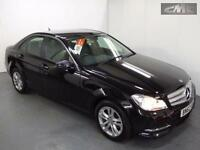 MERCEDES C CLASS C180 BLUEEFFICIENCY EXECUTIVE SE, Black, Auto, Petrol, 2013