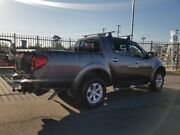2009 Mitsubishi Triton MN MY10 GLX-R Double Cab Grey 5 Speed Sports Automatic Utility Morayfield Caboolture Area Preview