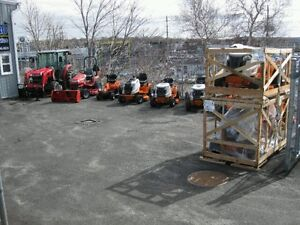 New Columbia power equipment lawnmowers and tractors