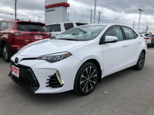 2018 Toyota Corolla XSE-LEATHER+NAVIGATION+MORE!