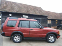 98 S LAND ROVER DISCOVERY 2.5 Td5 GS TURBO DIESEL AUTO 4X4 95K JUST SERVICED