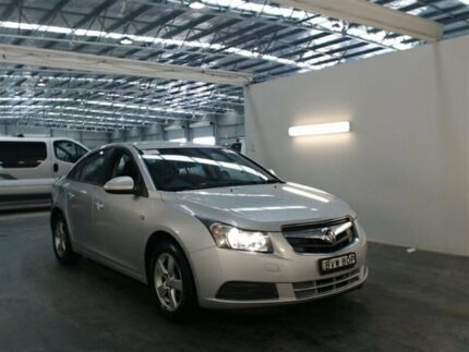 2010 Holden Cruze JG CD Silver 5 Speed Manual Sedan