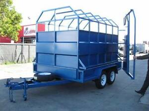 From only $34 p/week on finance* Tandem 10x6 Stock Crate Trailers Carrum Downs Frankston Area Preview