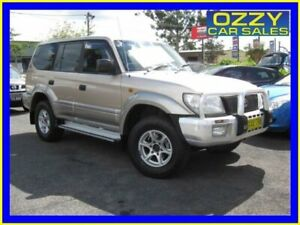 2002 Toyota Landcruiser Prado VZJ95R GXL (4x4) Gold 4 Speed Automatic 4x4 Wagon