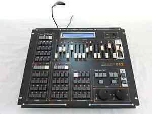 Console d'éclairage DMX
