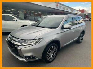 2017 Mitsubishi Outlander ZK MY17 LS 4WD Silver 6 Speed Constant Variable Wagon Mount Gravatt Brisbane South East Preview