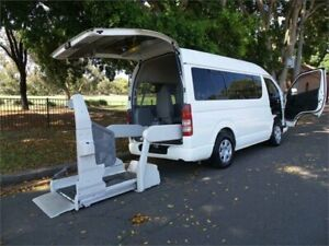 2005 Toyota HiAce TRH200 dual welcab access White Automatic Van Concord Canada Bay Area Preview