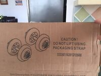 ProPower Dumbbell Weights - 15kg - Brand New still in box