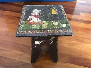 Antique ornamental stool Bulimba Brisbane South East Preview