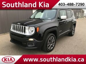 2016 Jeep Renegade Limited 4x4 **LEATHER-NAV-SUNROOF!!**