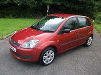 FORD FIESTA 1.2 STYLE 16V 5d 78 BHP (red) 2008