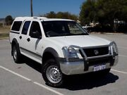 2005 Holden Rodeo RA MY05.5 LX Crew Cab White 5 Speed Manual Utility Maddington Gosnells Area Preview