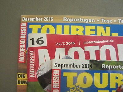 Magazin MOTORRAD TOURENFAHRER  3 Stück