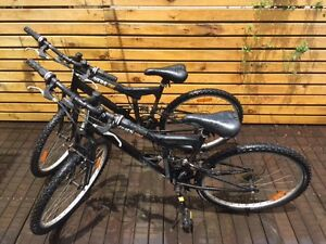 Mountain Bikes  - 'Rivers' Adult - $75.00 each or $130 for two. Woy Woy Gosford Area Preview