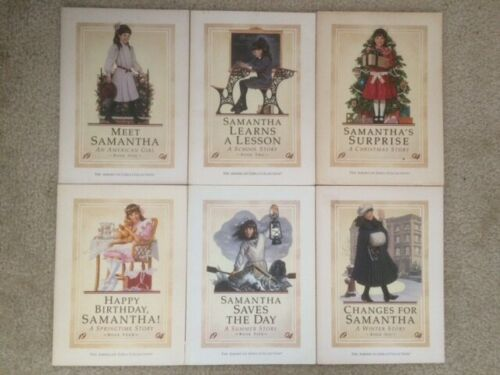 Samantha an American Girl complete series 1-6 set 1 2 3 4 5 6 paperback lot