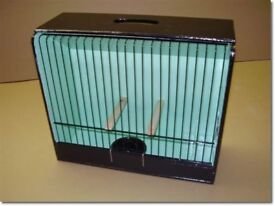 Gloster canary show cages and breeding cages