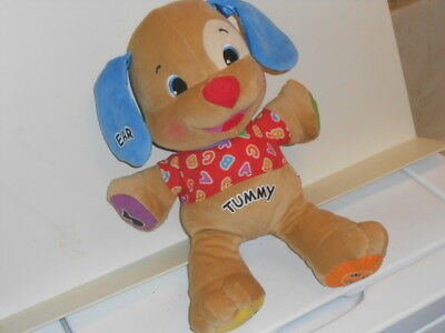 Vtg. 2003 Fisher Price ABC Musical Learning Toy Puppy Doll