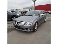 2009 MERCEDES C300 4MATIC CLEAN CARPROOF 75.206 KM SEULEMENT !!!