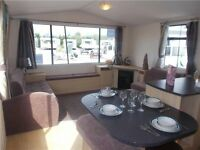 Static caravan for sale by the sea at sandy bay - low ground rent - low deposit and monthly payments