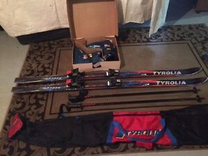 Tyrolia Skis, boots, poles, Package Deal