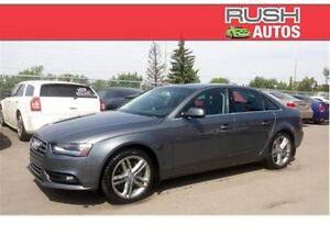 2013 Audi A4 Premium **LOW MILEAGE, LEATHER, SUNROOF**