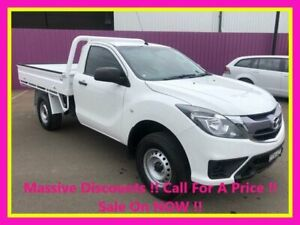 2017 Mazda BT-50 MY17 Update XT (4x4) White 6 Speed Automatic Cab Chassis Dubbo Dubbo Area Preview
