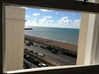 2 bed flat. Sea views. Kemp town. Available August.