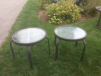 garden chairs /small tables