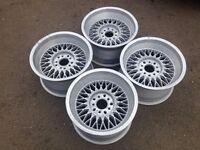 """REMOTEC BORBET B 16"""" 5x112 9j deep dish alloy wheels, original, not azev, tm"""
