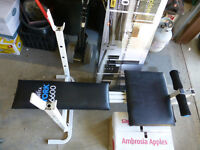 York 6600 Workout Bench - NO weights